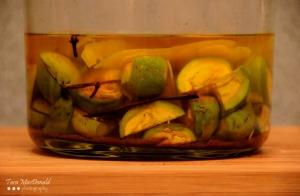 Homemade Walnut Liqueur (Nocino)