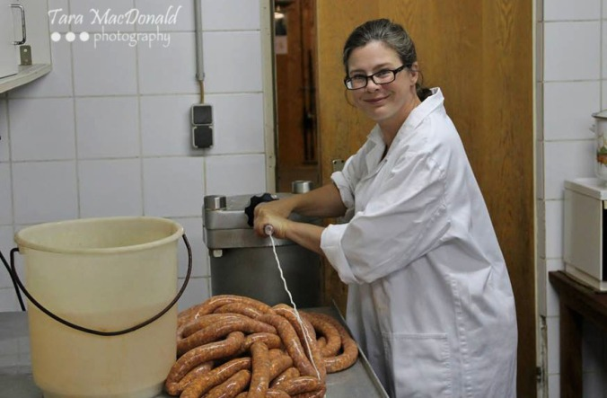 Learning how to make Austrian-style sausages