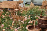 Baskets, Farmers Market, Mosoni Piac, Mosonmagyaróvár, Hungary
