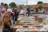 Used Books, Flea Market, Mosoni Piac, Mosonmagyaróvár, Hungary