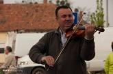 Busker, Gypsy, Violin, Mosoni Piac, Mosonmagyaróvár, Hungary
