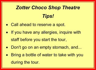 Zotter Choco Shop Tips