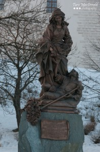 St. Elizabeth monument, Bratislava Castle