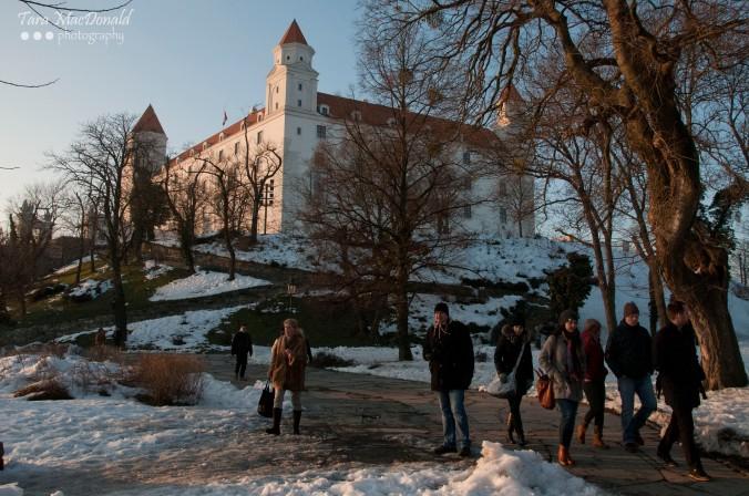 Bratislava Castle, Old Town, Slovakia